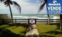 Linda casa beira-mar na praia de Enseada dos Corais.Valor de venda R$ 1.000.000, - Ref.404