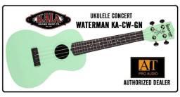 Ukulele Concert Kala Waterman KA-CWB-GN resistente à agua na loja At Proaudio!