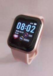 Relógio Inteligente Smartwatch D20 Rosa