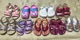 09 Pares sandália feminina