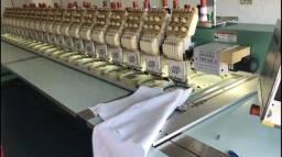 Maquina de Bordar Industrial Tajima 20 Cabeças ACT Troca Veículo
