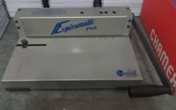 Encadernadora Perfuradora Lassane Espiramatic Plus - 20fls - manual