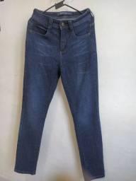 Calça jeans Hering cintura alta