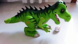 Dinossauro luz e sons