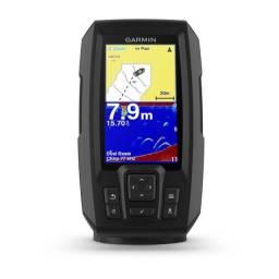 Gps Sonar Garmin Striker Plus 4 + Transducer