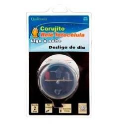 Rele Lampada Fotoeletrico Fotocelula Sensor Bivolt C/ Suporte