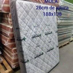 COLCHÃO  DE MOLA COM PILLOW TOP ENTREGA GRÁTIS ???