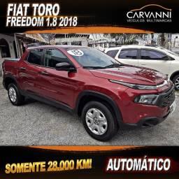 Fiat Toro Freedom 1.8 2018 Automático - Somente 28.000 km
