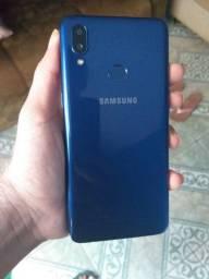 A10s azul aceito cartão