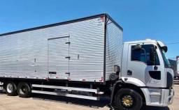Título do anúncio: Ford Cargo 2428 2012 baú 10 metros.