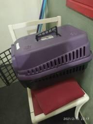 Caixa de transporte de gato