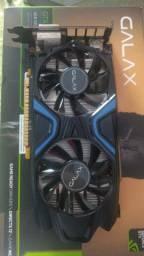 Placa de Vídeo Galax NVIDIA GeForce GTX 1050 Ti Exoc 4GB, GDDR5 - EXOC