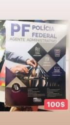 Livros para concurso PF área administrativa