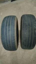 2 Pneus Dunlop 175/65 Aro14 Meia Vida