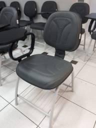 Carteiras/ cadeiras escolares/ universitárias profissionais com prancheta