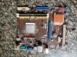 Kit placa AMD 2.9ghz 4g ddr2