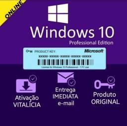 Chave Licença Original Windows 10 Pro *Ativação Online