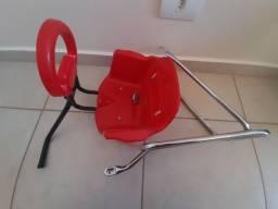 Cadeirinha para bike mais garupa
