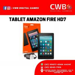 Tablet Amazon Fire 7HD,16gb novo lacrado e com garantia.Loja física