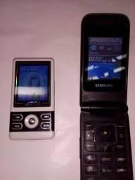 Título do anúncio: Vendo celular antigo e um mp.4 digital player