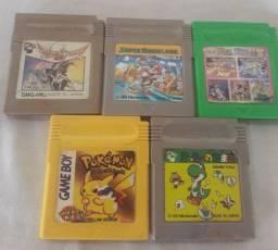 Cartuchos Game Boy Classic e Color