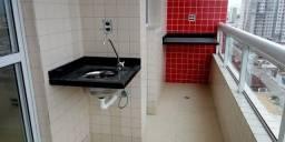 Título do anúncio: Apartamento com 2 dormitórios à venda, 65 m² por R$ 350.000 - Aviação - Praia Grande/SP