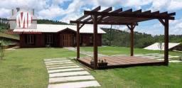 Título do anúncio: Ch0665 - Chácara maravilhosa com chalés em madeira, piscina, em Socorro/SP