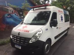 Master 2018 L3H2 ambulancia ar condicionado longa
