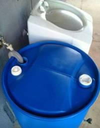 Bombona 200 litros com torneira