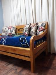 Sofa rústicos madeira