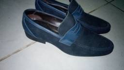 Título do anúncio: Sapato social Spazzolato azul