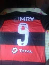 Camisas do Flamengo número 9 Gabigô.
