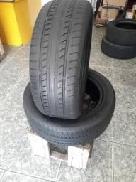 Pneus aro 17 - 215/55 / Mais informações do pneu na descrição