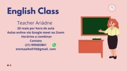 Título do anúncio: Aulas de Língua Inglesa