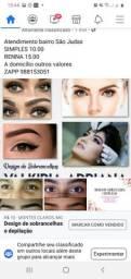 Design de sobrancelhas e depilação