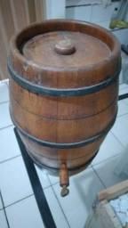 Barril de madeira para bebidas