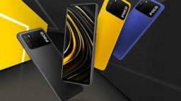 Poco M3 128/4GB Ram Azul/Preto/Amarelo 4+128Gb Leia a Descrição