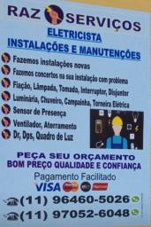 serviços, elétricos: