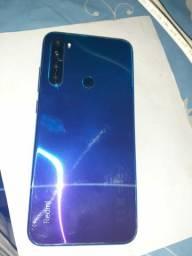 Xiaomi redmi note 8 128gb novinho azul