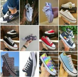 Vendo tênis converse all star ( 120 com entrega)