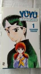 Mangás Yu Yu Hakusho - Coleção completa