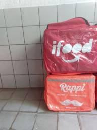 Motoboy bag com isopor 45 litros entregas