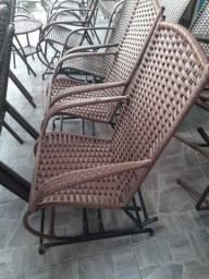 Cadeiras de balanço 4molas