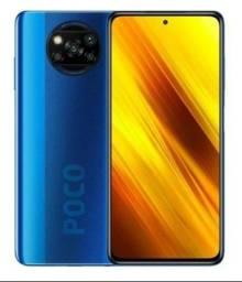 Xiaomi Poco X3,64 GB  blue 6 GB RAM