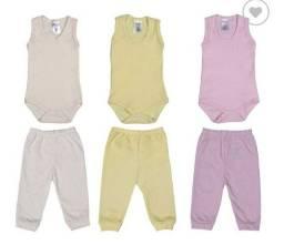 Roupas de bebê kit 12 peças menino/menina (Leiam a descrição)
