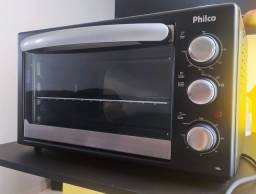 Título do anúncio: Forno Elétrico Com Defeito Philco 38L Preto 1500W 127V