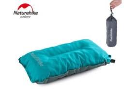 Kit 2 Travesseiros Infláveis Naturehike Camping Acampamento
