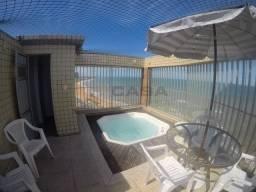 MN - Excelente cobertura no Edifício Praia Dourada - Vista Panorâmica para Mar