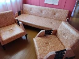 Jogo de sofá antiguidade em estado de novo