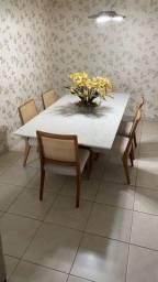 Título do anúncio: Mesa para 8 lugares com 6 cadeiras